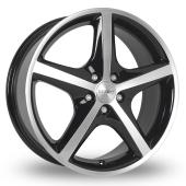 Image for Dezent RL Black_Polished Alloy Wheels