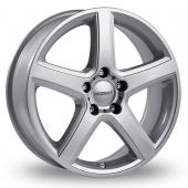 Dezent U Silver Alloy Wheels