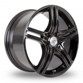 Image for BK_Racing 503 Black Alloy Wheels