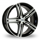Image for ZCW ZM1 Black_Polished Alloy Wheels