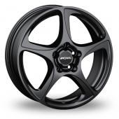 Image for Ronal R53 Matt_Black Alloy Wheels