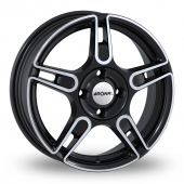 Image for Ronal R52 Black_Polished Alloy Wheels