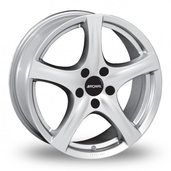 Zoom Ronal R42_5x112_Wider_Rear Silver Alloys