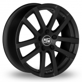 Image for MSW_(by_OZ) 22 Black Alloy Wheels