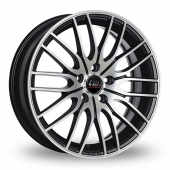 Image for CW_(by_Borbet) CW4 Matt_Black Alloy Wheels