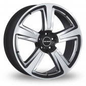 Image for Radius R15_5x112_Wider_Rear Black_Polished Alloy Wheels