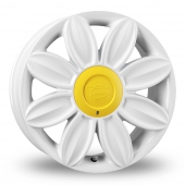 Tansy Daisy White Alloy Wheels