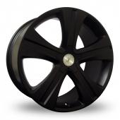 Team Dynamics Manhattan Black Alloy Wheels