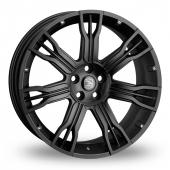 Hawke Saker II Black Alloy Wheels