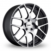 TSW Nurburgring Forged Gun Metal Polished Alloy Wheels