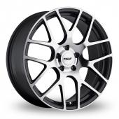 TSW Nurburgring Forged Gun Metal Polished Alloy Wheels
