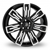 Hawke Hermes Black Polished Alloy Wheels