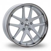 Image for Zito Deepstar Silver Alloy Wheels
