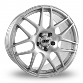 DRC DRM Silver Alloy Wheels