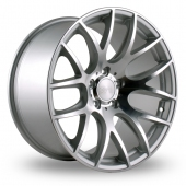 Image for ThreeSDM 0_01_5x112_Wider_Rear Silver_Polished Alloy Wheels