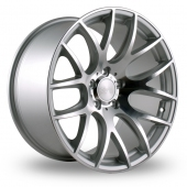 Image for ThreeSDM 0_01_5x120_Low_Wider_Rear Silver_Polished Alloy Wheels