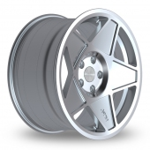 Image for ThreeSDM 0_05_5x100_Wider_Rear Silver_Polished Alloy Wheels