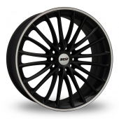 Image for ZCW Snoop Matt_Black Alloy Wheels