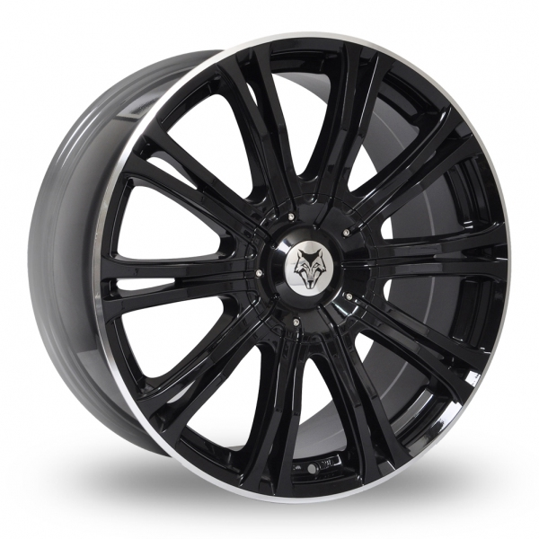 Zoom Wolfrace Wolf_Design_Vermont_Sport Black Alloys