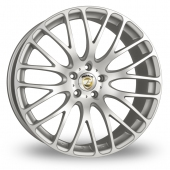 Calibre Altus 5x120 Wider Rear Silver Polished Alloy Wheels