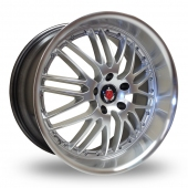 Image for Axe Ex_1ne_5x120_Wider_Rear Hyper_Silver Alloy Wheels