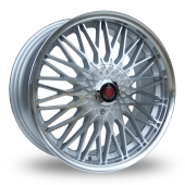 Image for Axe Ex_3hree Silver_Polished Alloy Wheels