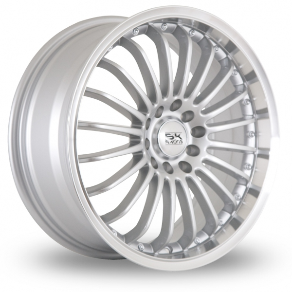 Zoom BK_Racing 550 Silver_Polished Alloys