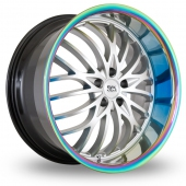 Image for BK_Racing 797 Hyper_Silver Alloy Wheels