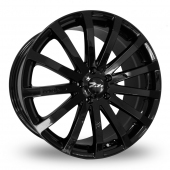 "20"" Zito 183 Black Alloy Wheels"