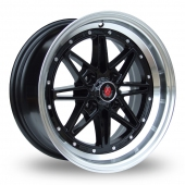 Image for Axe Ex_4our Black_Polished Alloy Wheels