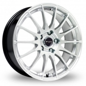 Image for Fox_Racing FX004 Silver Alloy Wheels