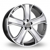 Image for Riva RVR Hyper_Silver Alloy Wheels