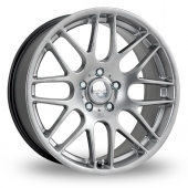 Image for Riva DTM Hyper_Silver Alloy Wheels