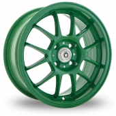 Image for Konig Daylite Green Alloy Wheels