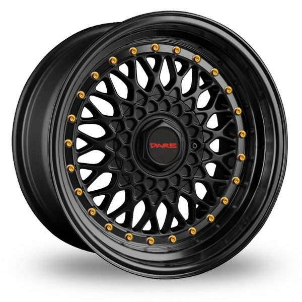 Zoom Dare DR-RS Matt_Black_Gold_Rivets Alloys