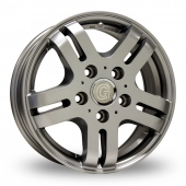 Image for ZCW Goldschmitt_Pro5 Silver Alloy Wheels