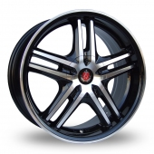 Image for Axe Ex_5ive Black_Polished Alloy Wheels