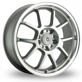 Konig Foil Silver Polished Alloy Wheels