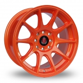 Image for Axe Ex_8ight Orange Alloy Wheels