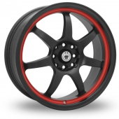 Konig Forward Black Alloy Wheels