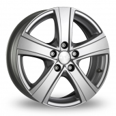 "18"" MAK Van 5 Silver Alloy Wheels"