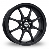 Konig Helium Matt Black Alloy Wheels