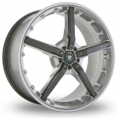 Image for Konig Hotswap Mirror Alloy Wheels