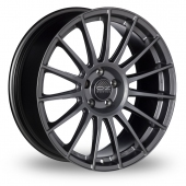 Image for OZ_Racing Superturismo_LM_5x114_Wider_Rear Graphite Alloy Wheels