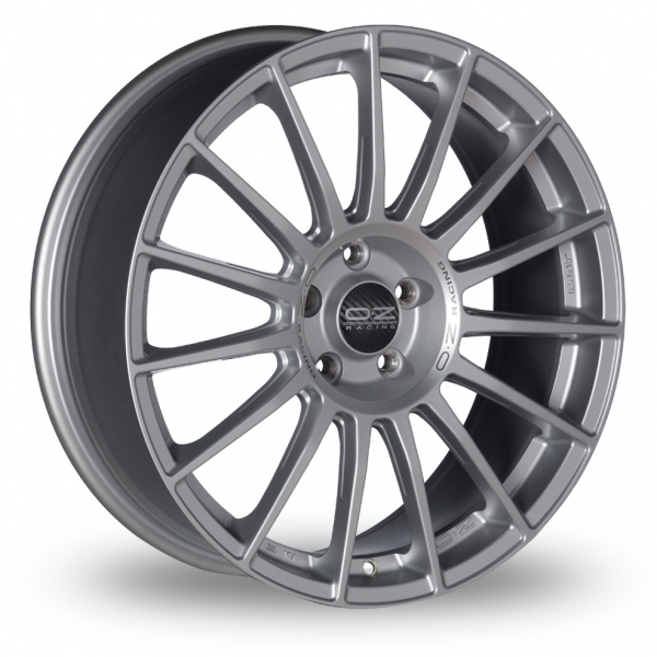 Zoom OZ_Racing Superturismo_LM_5x112_Wider_Rear Silver Alloys