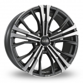 Image for OZ_Racing Cortina Graphite_Polished Alloy Wheels