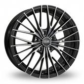 Image for OZ_Racing Ego Black_Polished Alloy Wheels