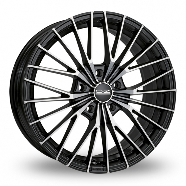 Zoom OZ_Racing Ego_5x120_Wider_Rear Black_Polished Alloys