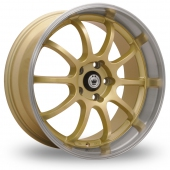Konig Lightning Gold Alloy Wheels