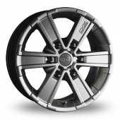 Image for OZ_Racing Off_Road_6 Titanium Alloy Wheels